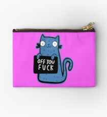 Off you fuck Cat Studio Pouch