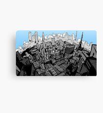 Persona 5 Cityscape Daytime Canvas Print