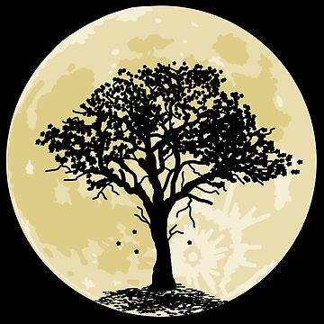 Moon Tree by pda1986