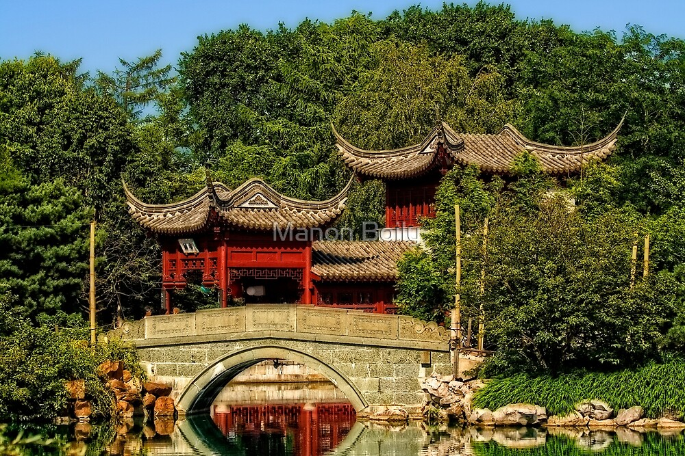 China Garden by Manon Boily