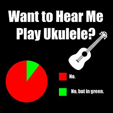 Ukulele Pie Chart by Kowulz