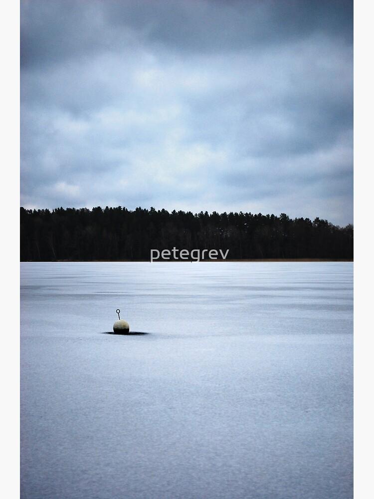 Nyköping Frozen Lake by petegrev