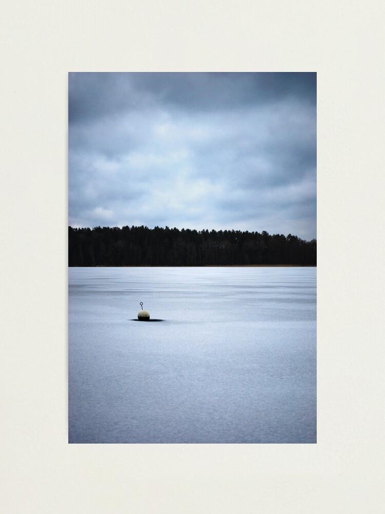 Alternate view of Nyköping Frozen Lake Photographic Print