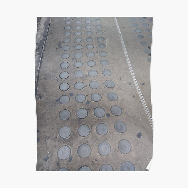 #Floor #stone #texture #pattern #road #street #abstract #pavement #gray #asphalt #architecture #paving #surface #brick #urban #construction #city #concrete #cement #old #line Poster