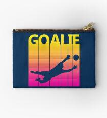 Retro 1980s Soccer Goalie Studio Pouch