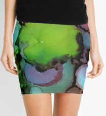 in the Lily Pond Mini Skirt