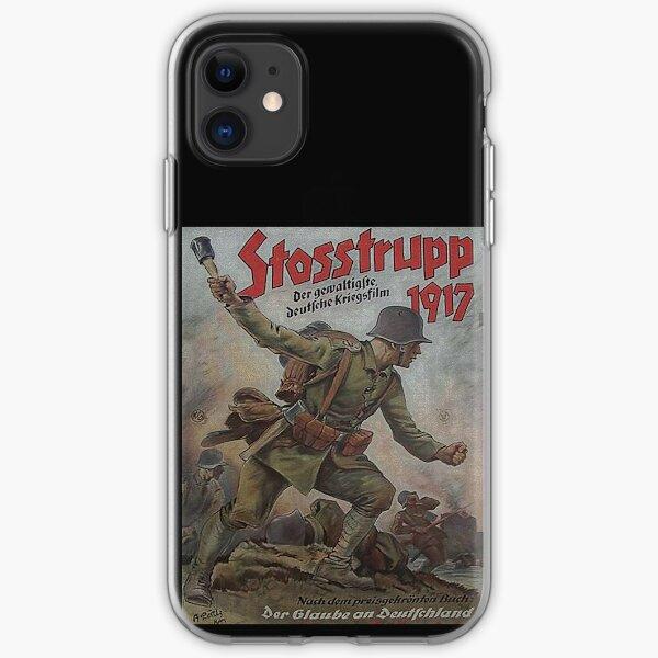 Stosstrupp 1917..vintage WWI German movie poster iPhone Soft Case