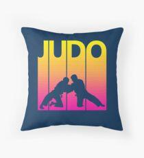 Retro- Achtzigerjahre Judo Bodenkissen