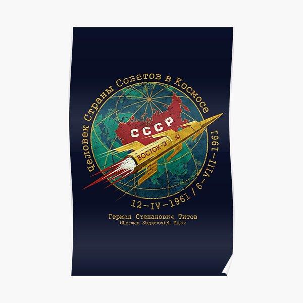 CCCP Golden Rocket V01 Poster