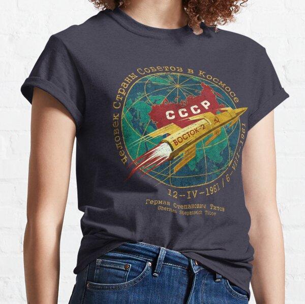 CCCP Golden Rocket V01 Classic T-Shirt