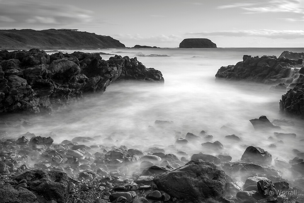 The Nobbies - Phillip Island by Jim Worrall
