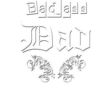 JB Prints Co: Badass Dad Design by jbprintsco