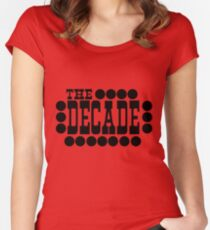 The Decade Women's Fitted Scoop T-Shirt
