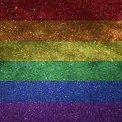 Galaxy Gay Pride von Ash Tomb