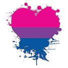 Bisexual Splatter Heart by CaitGreer