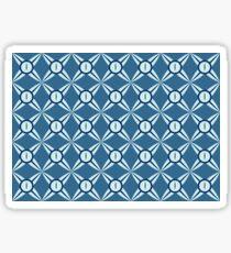 SNAKE EYE BLUE Sticker
