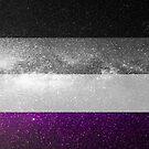 Asexuelle Galaxy Flagge von Ash Tomb