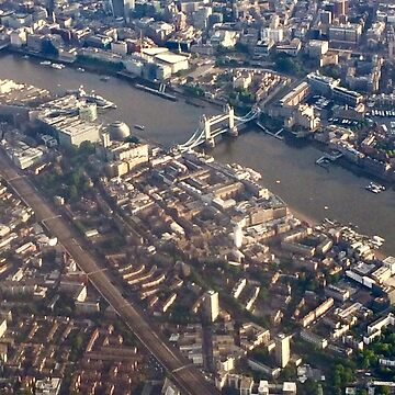 London from the Air by gingerdelight