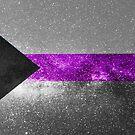 Demisexuelle Galaxy Flag von Ash Tomb
