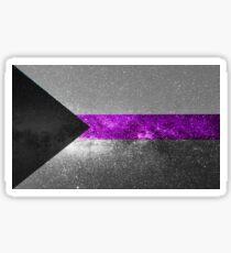 Demisexuelle Galaxy Flag Sticker