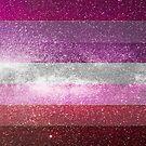 Lesben Galaxy Flagge von Ash Tomb
