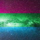 Polysexuelle Galaxy Flagge von Ash Tomb