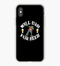 Funny Halloween Zombie Will Dab For Beer. Beer Lover Gift iPhone Case