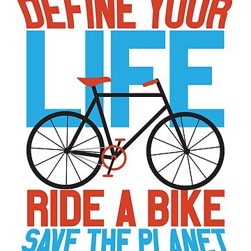 Green Environment Ride a Bike Save the Planet by KanigMarketplac