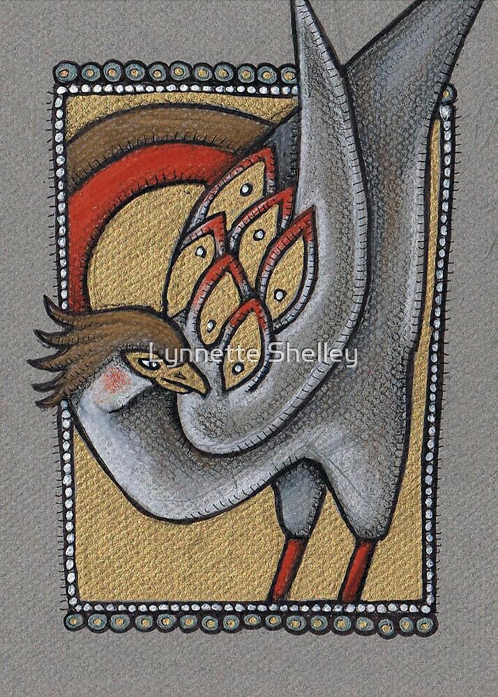 Secretary Bird by Lynnette Shelley