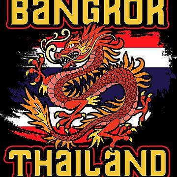 Thailand Bangkok by GeschenkIdee