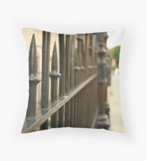 Fence Throw Pillow