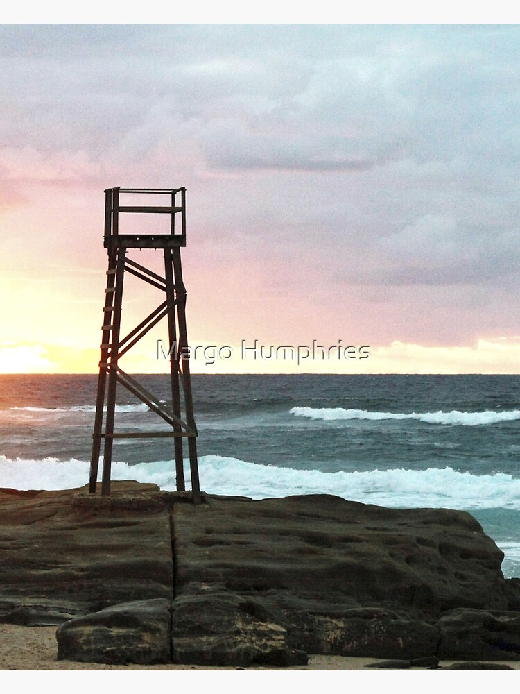Sunrise at Redhead Beach - 1 by kasarnDesigns
