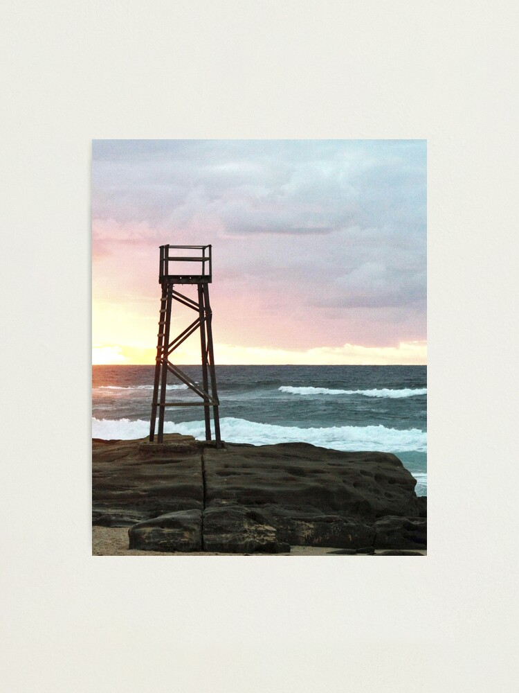Alternate view of Sunrise at Redhead Beach - 1 Photographic Print