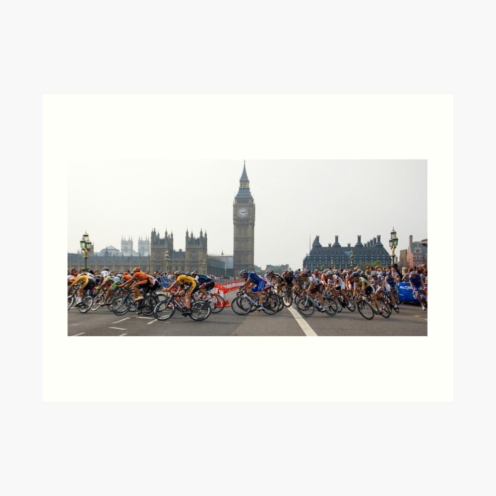 LONDON, TOUR OF BRITAIN Art Print