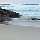 Sunrise at Redhead Beach - 2 by Margo Humphries