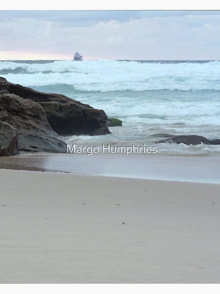 Sunrise at Redhead Beach - 2 by kasarnDesigns