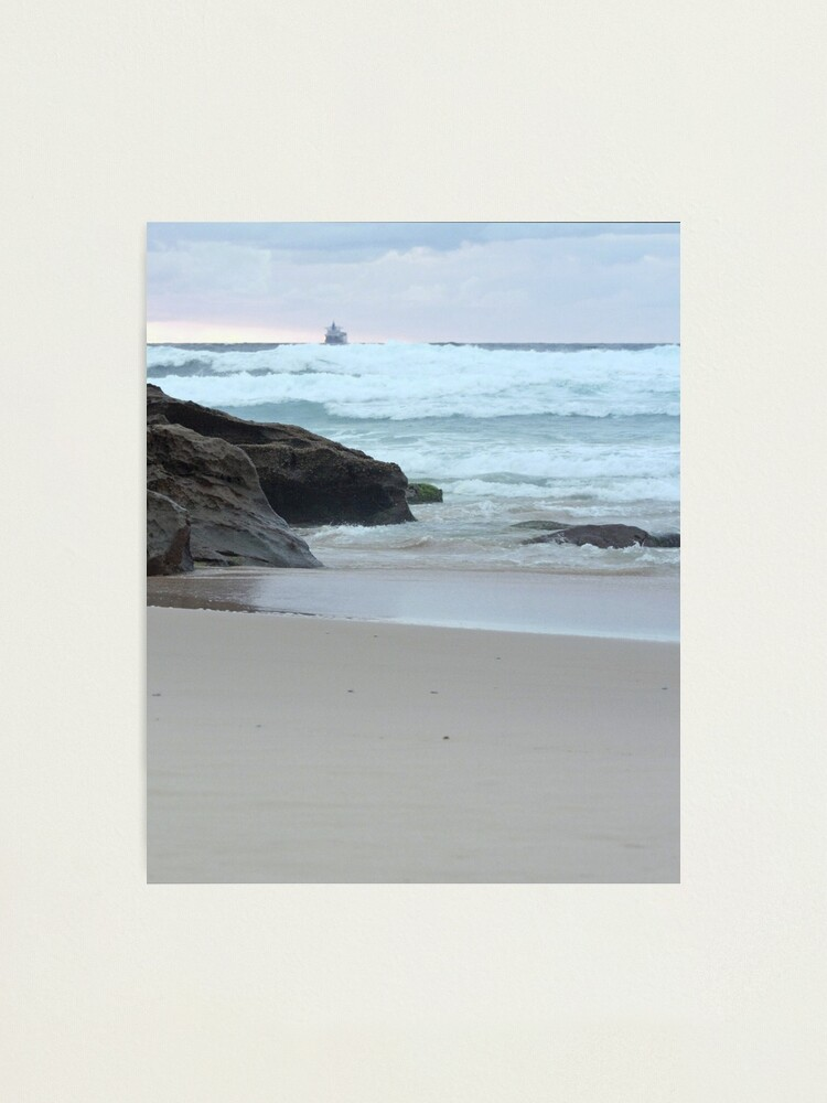 Alternate view of Sunrise at Redhead Beach - 2 Photographic Print