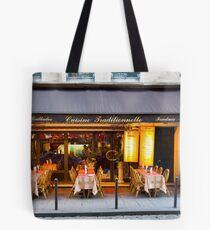 Parisian Cafe 6 Tote Bag