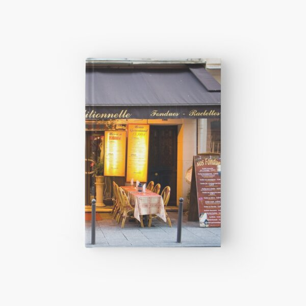 Parisian Cafe 6 Hardcover Journal