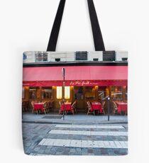 Parisian Cafe 5 Tote Bag