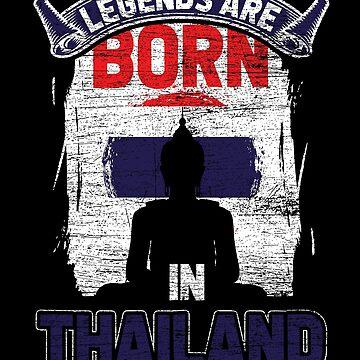 Thailand Thai by GeschenkIdee