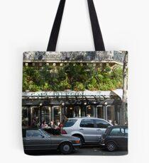 Parisian Cafe 4 Tote Bag