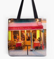 Parisian Cafe 3 Tote Bag