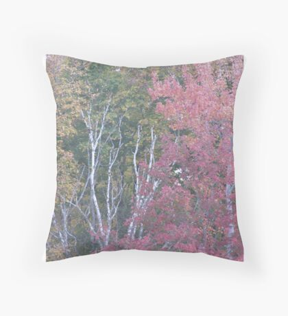 Nature's Watercolors Throw Pillow