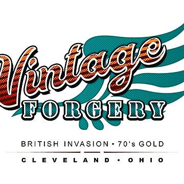 Vintage Forgery Light: American Rock Band from Cleveland by JWWright