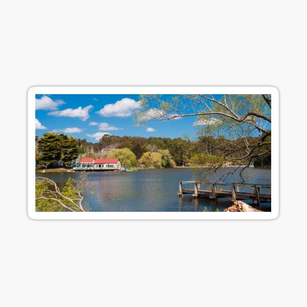 Daylesford Lake, VIC Sticker