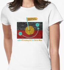 CroakeyGO Marrickville  Women's Fitted T-Shirt