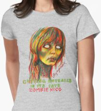 Zombie Nico Womens Fitted T-Shirt