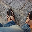 Feet on Pavement by Orla Cahill Photography