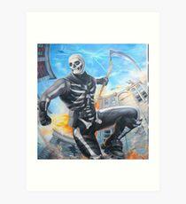 Skull Trooper Sythe Art Print